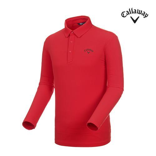 [캘러웨이]남성 솔리드 기모 긴팔 티셔츠 CMTYI3144-500_G