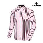 [레노마골프]남성 세로 스트라이프 긴팔 셔츠 티셔츠 RMTYG3111-100_G