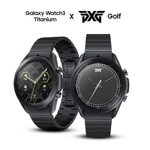 [PXG 에디션] 삼성 갤럭시 워치3 골프 45mm (티타늄 바디)